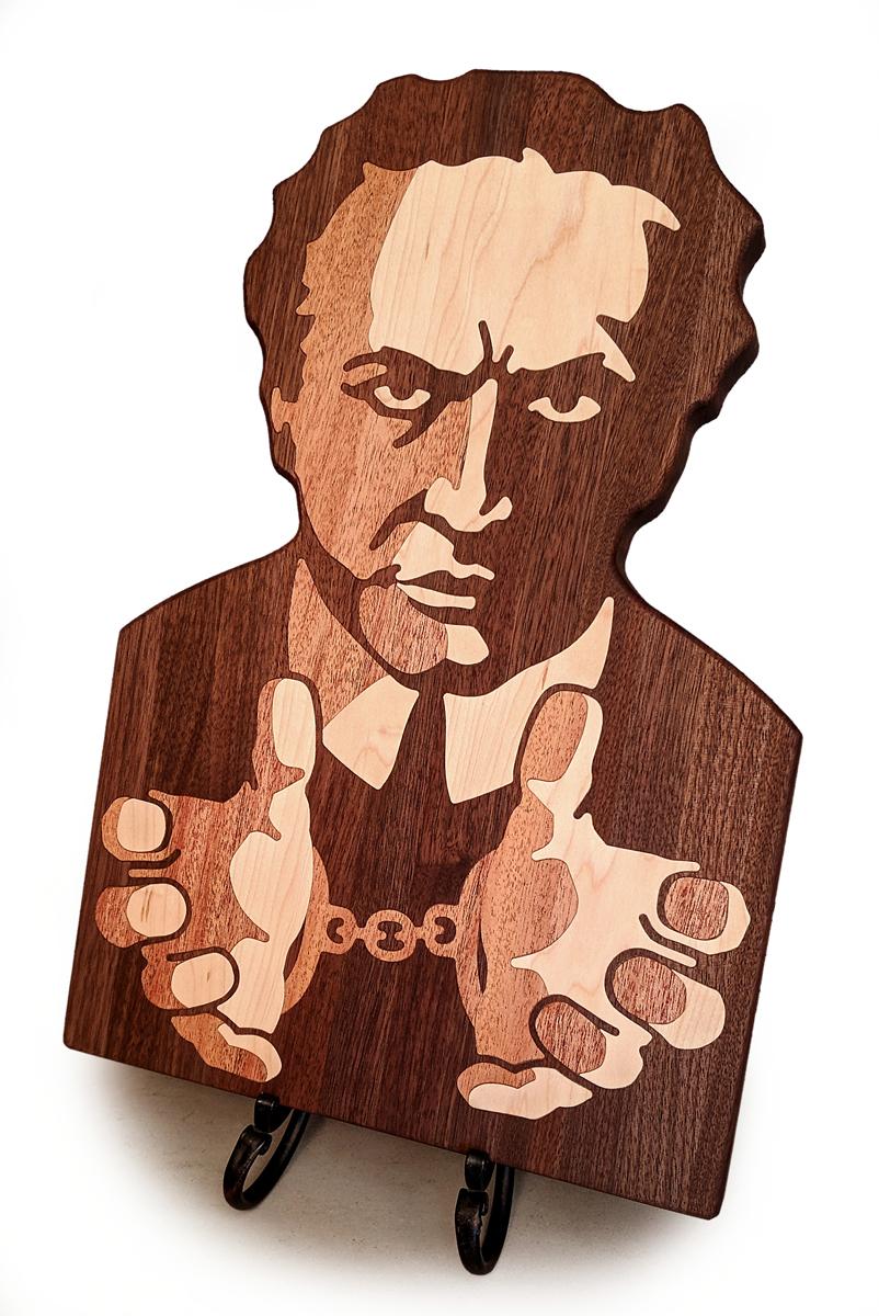 Houdini Cutting Board Angle