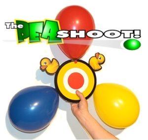 balloon popping target children's magic trick